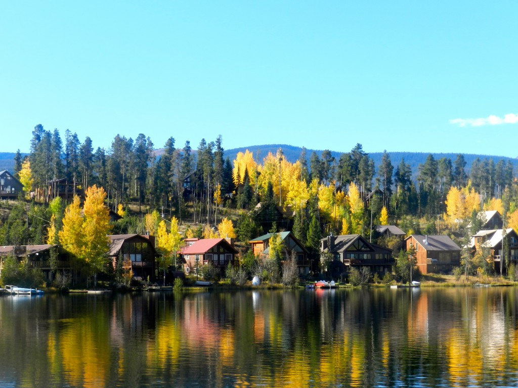 Houses on Lake